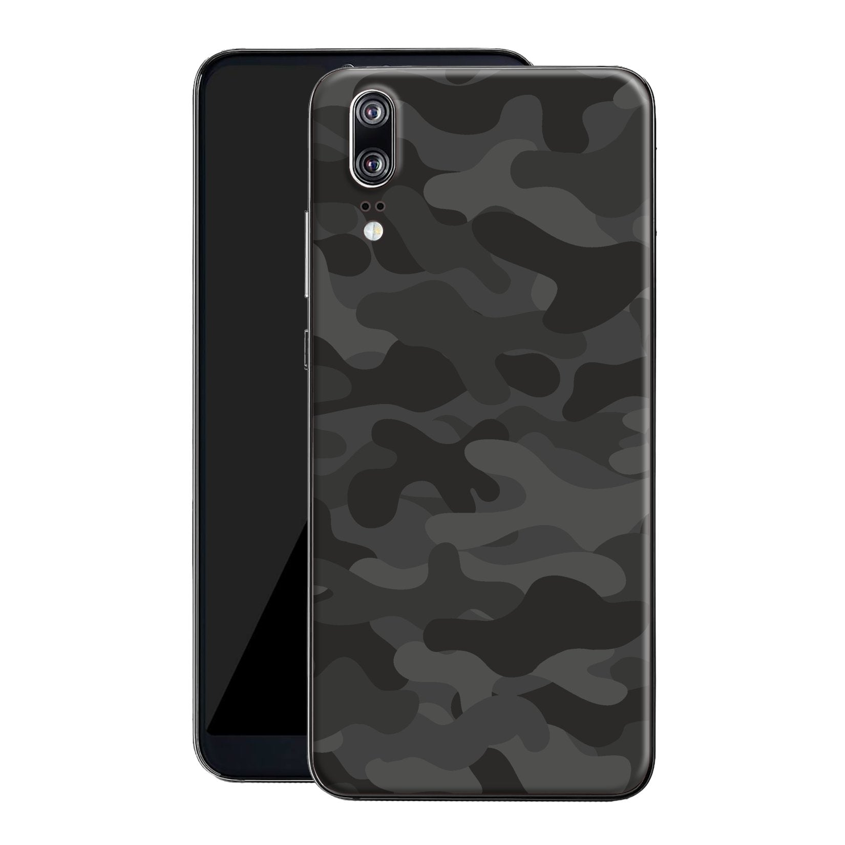 Huawei P20 Print Custom Signature Camouflage Dark Slate Skin Wrap Decal by EasySkinz