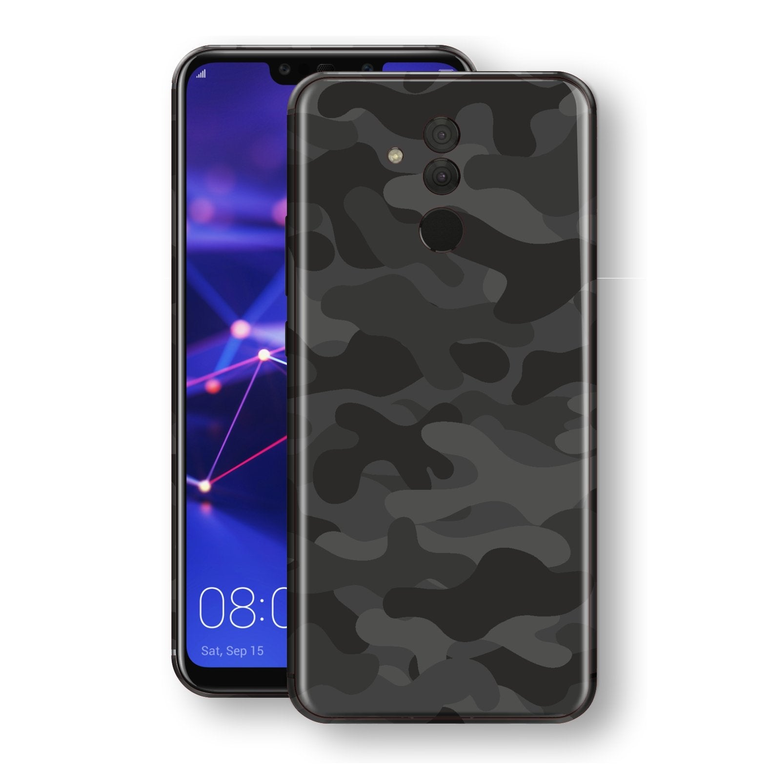 Huawei MATE 20 LITE Signature DARK SLATE CAMO Camouflage Skin Wrap Decal Cover by EasySkinz