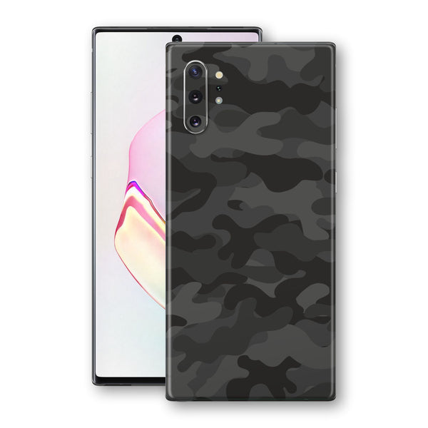 Samsung Galaxy NOTE 10+ PLUS Signature DARK SLATE CAMO Camouflage Skin Wrap Decal Cover by EasySkinz