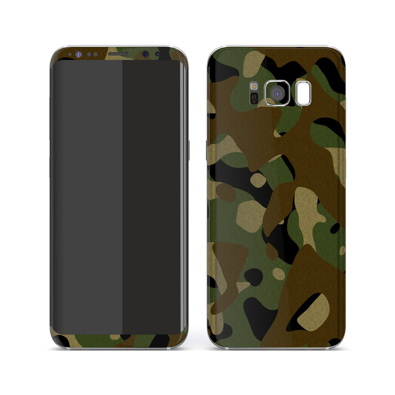 Samsung Galaxy S8 Print Custom Signature Camouflage Classic Skin Wrap Decal by EasySkinz