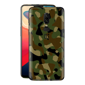 OnePlus 6 Print Custom Signature Camouflage Classic Skin Wrap Decal by EasySkinz