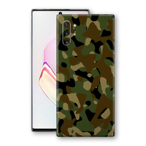 Samsung Galaxy NOTE 10+ PLUS Print Custom SIGNATURE Camouflage CLASSIC - 24 Skin Wrap Decal by EasySkinz