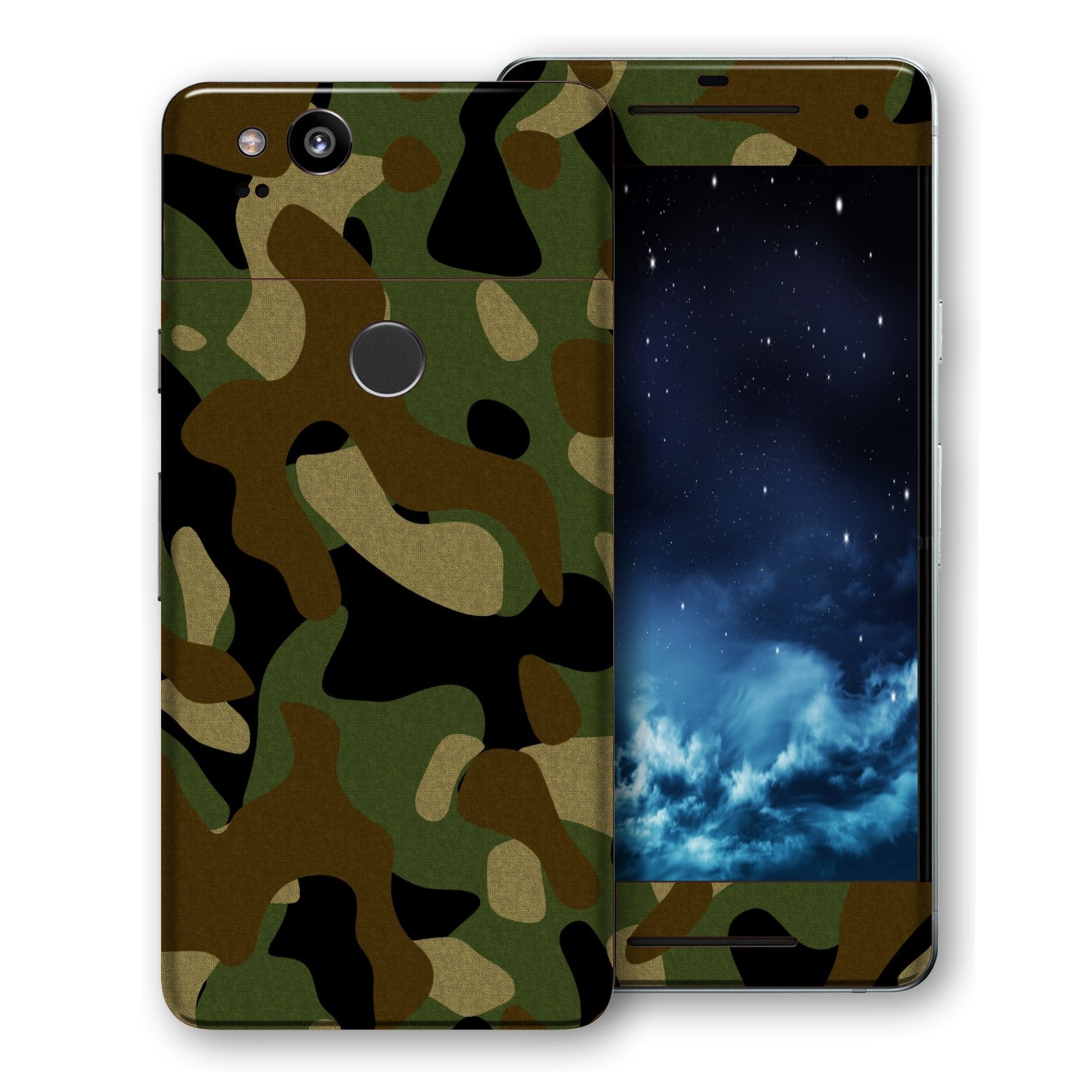 Google Pixel 2 Print Custom Signature Camouflage Classic Skin Wrap Decal by EasySkinz