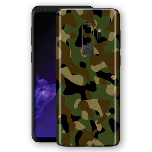 Samsung Galaxy S9+ PLUS Signature Camouflage Classic Skin, Decal, Wrap, Protector, Cover by EasySkinz | EasySkinz.com