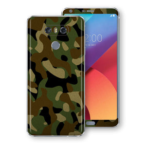 LG G6 Print Custom Signature Camouflage Classic Skin Wrap Decal by EasySkinz