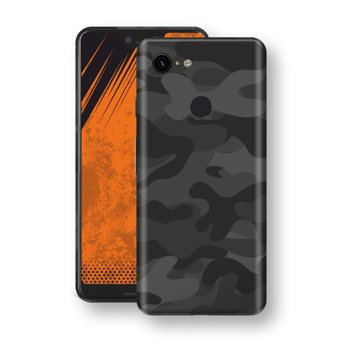 Google Pixel 3 XL Signature DARK SLATE CAMO Camouflage Skin Wrap Decal Cover by EasySkinz