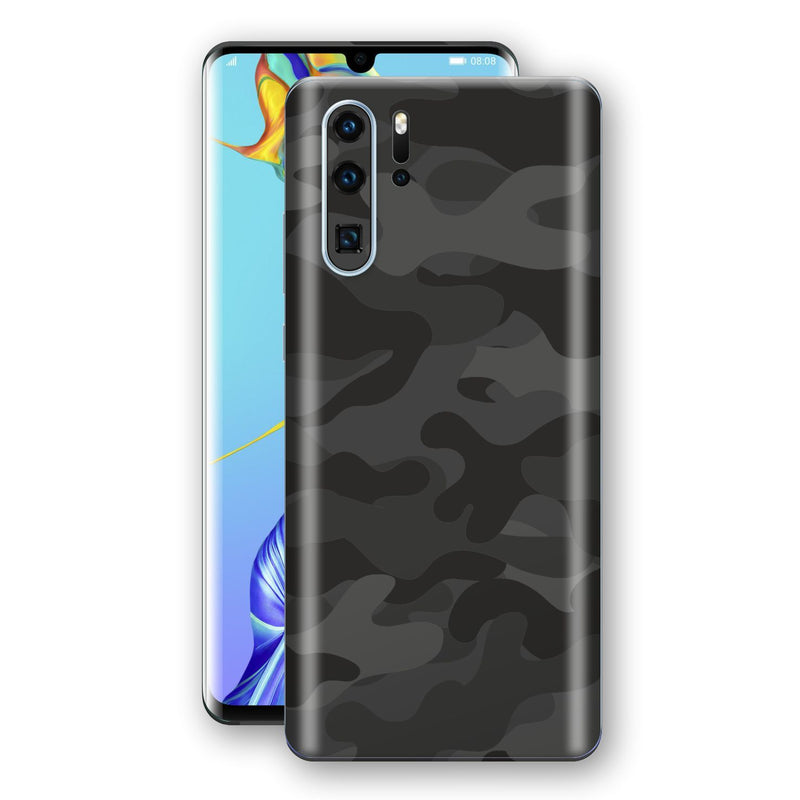 Huawei P30 PRO Signature DARK SLATE CAMO Camouflage Skin Wrap Decal Cover by EasySkinz