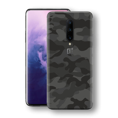 OnePlus 7 PRO Signature DARK SLATE CAMO Camouflage Skin Wrap Decal Cover by EasySkinz