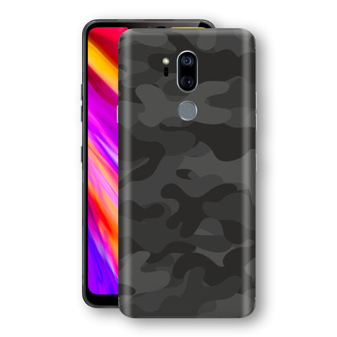 LG G7 ThinQ Signature DARK SLATE CAMO Camouflage Skin Wrap Decal Cover by EasySkinz