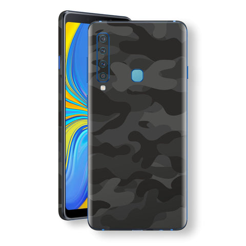 Samsung Galaxy A9 (2018) Signature DARK SLATE CAMO Camouflage Skin Wrap Decal Cover by EasySkinz