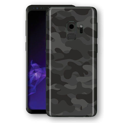 Samsung Galaxy S9 Signature DARK SLATE CAMOUFLAGE  Skin, Decal, Wrap, Protector, Cover by EasySkinz | EasySkinz.com
