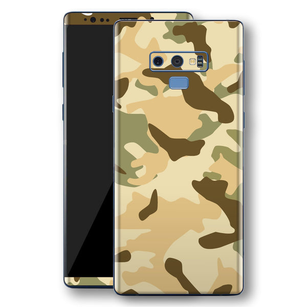 Samsung Galaxy NOTE 9 Print Custom Signature Camouflage Desert Skin Wrap Decal by EasySkinz