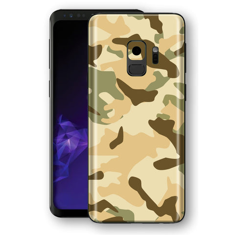 Samsung Galaxy S9 Signature Desert CAMOUFLAGE  Skin, Decal, Wrap, Protector, Cover by EasySkinz | EasySkinz.com