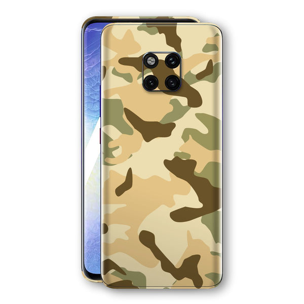 Huawei MATE 20 PRO Print Custom Signature Camouflage Desert Skin Wrap Decal by EasySkinz