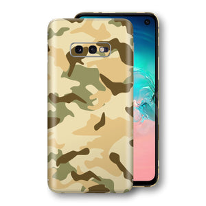 Samsung Galaxy S10e Print Custom Signature Camouflage Desert Skin Wrap Decal by EasySkinz