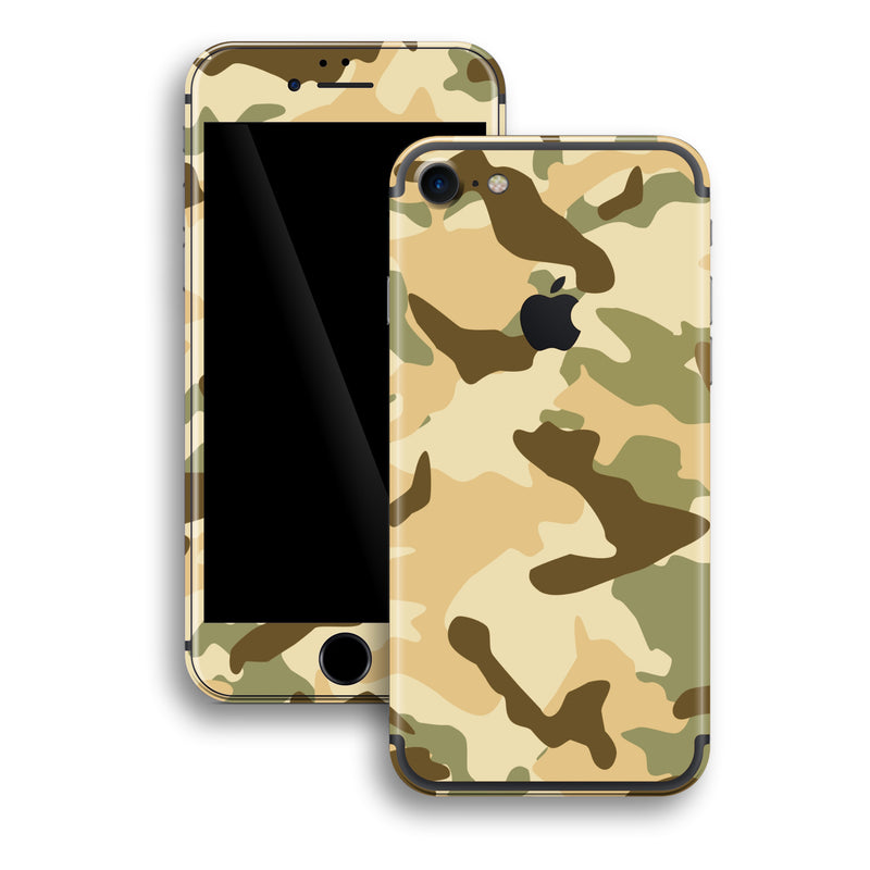 iPhone 7 Print Custom Signature DESERT Camouflage Skin Wrap Decal by EasySkinz