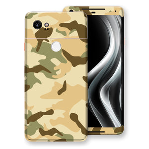 Google Pixel 2 XL Print Custom Signature Camouflage Desert Skin Wrap Decal by EasySkinz