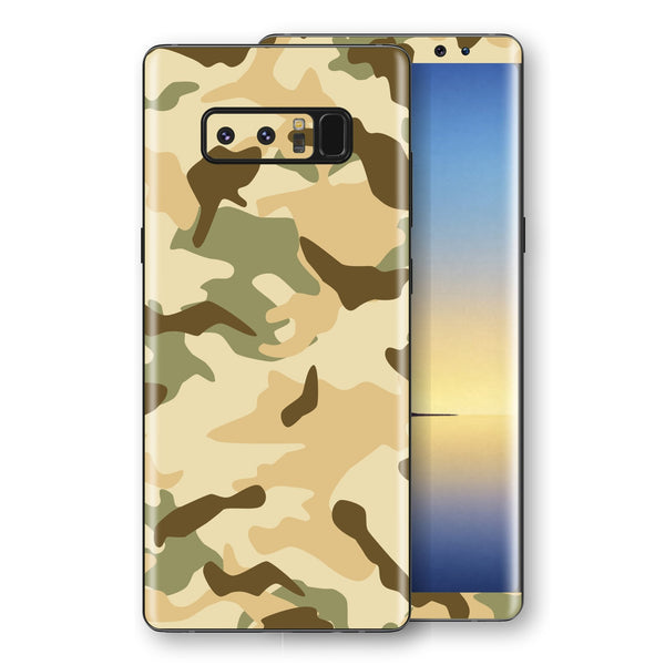 Samsung Galaxy NOTE 8 Print Custom Signature Camouflage Desert Skin Wrap Decal by EasySkinz