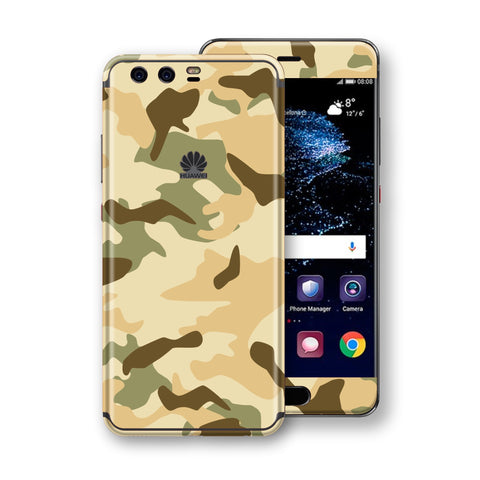 Huawei P10+ PLUS  Print Custom Signature Camouflage Desert Skin Wrap Decal by EasySkinz