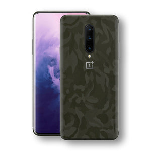 OnePlus 7 PRO Green Camo Camouflage 3D Textured Skin Wrap Decal Protector | EasySkinz