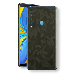 Samsung Galaxy A9 (2018) Green Camo Camouflage 3D Textured Skin Wrap Decal Protector | EasySkinz