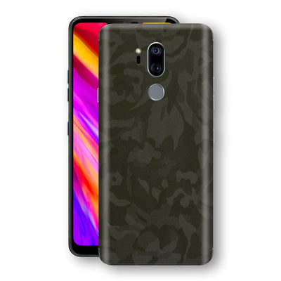 LG G7 ThinQ Green Camo Camouflage 3D Textured Skin Wrap Decal Protector | EasySkinz