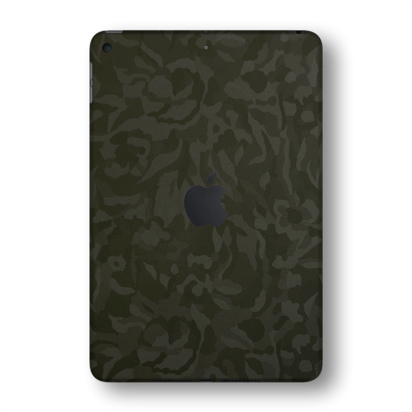 iPad MINI 5 (5th Generation 2019) Green Camo Camouflage 3D Textured Skin Wrap Sticker Decal Cover Protector by EasySkinz