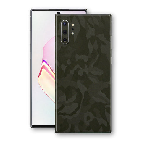 Samsung Galaxy NOTE 10+ PLUS Green Camo Camouflage 3D Textured Skin Wrap Decal Protector | EasySkinz