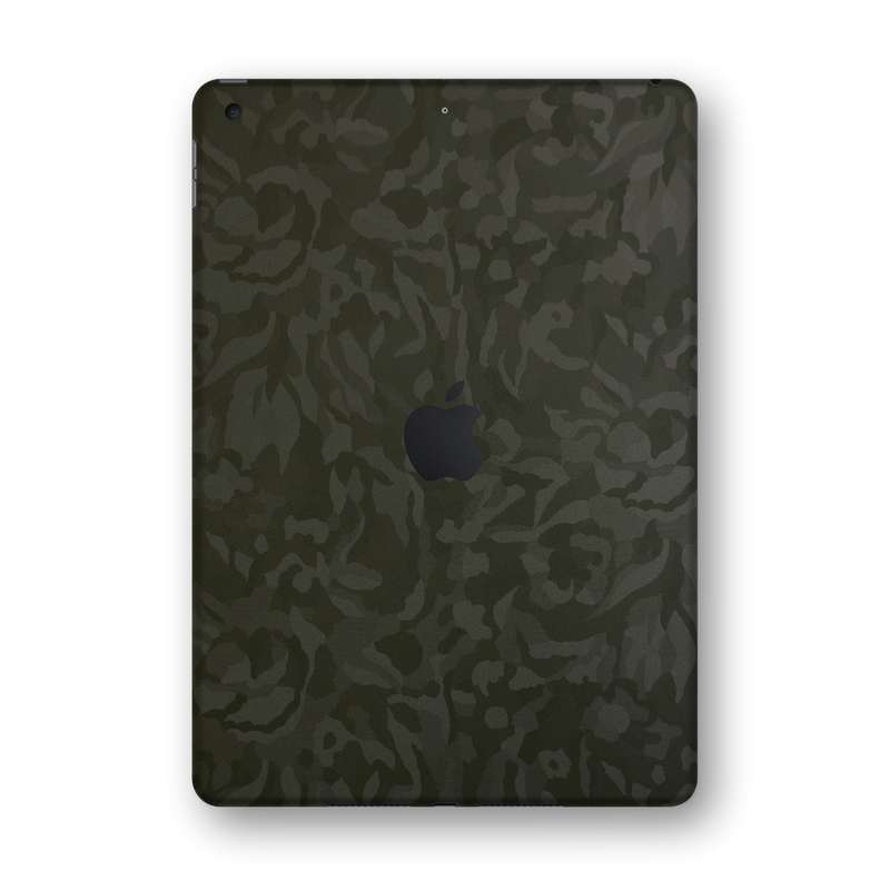 "iPad 10.2"" (7th Gen, 2019) Green Camo Camouflage 3D Textured Skin Wrap Sticker Decal Cover Protector by EasySkinz"