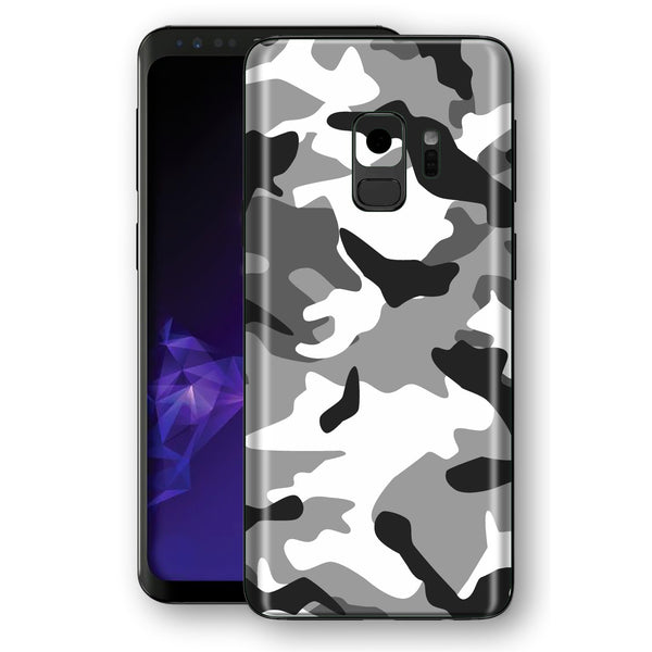 Samsung Galaxy S9 Signature Grey CAMOUFLAGE  Skin, Decal, Wrap, Protector, Cover by EasySkinz | EasySkinz.com