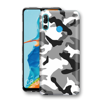 Huawei P30 LITE Print Custom Signature Grey Camouflage Camo Skin Wrap Decal by EasySkinz