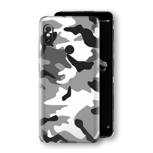XIAOMI Redmi NOTE 5 Print Custom Signature Camouflage Grey Skin Wrap Decal by EasySkinz