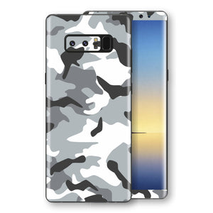 Samsung Galaxy NOTE 8 Print Custom Signature Grey Camouflage Camo Skin Wrap Decal by EasySkinz