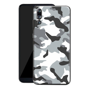 Huawei P20 PRO Print Custom Signature Camouflage Grey Skin Wrap Decal by EasySkinz