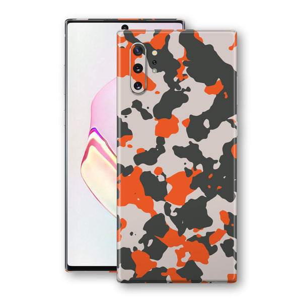 Samsung Galaxy NOTE 10+ PLUS Camouflage Orange Skin, Decal, Wrap, Protector, Cover by EasySkinz | EasySkinz.com