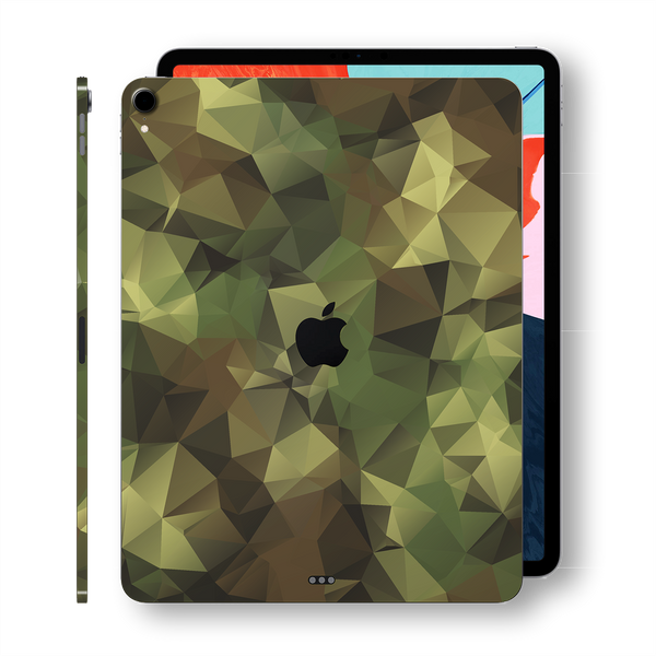 "iPad PRO 11"" inch 2018 Signature Camo Camouflage Abstract Printed Skin Wrap Decal Protector 