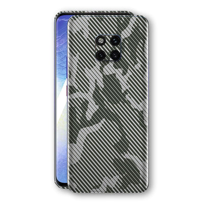 Huawei MATE 20 PRO Print Custom Signature CAMO STRIPES Abstract Skin Wrap Decal by EasySkinz