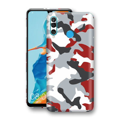 Huawei P30 LITE Print Custom Signature Camouflage Red Skin Wrap Decal by EasySkinz