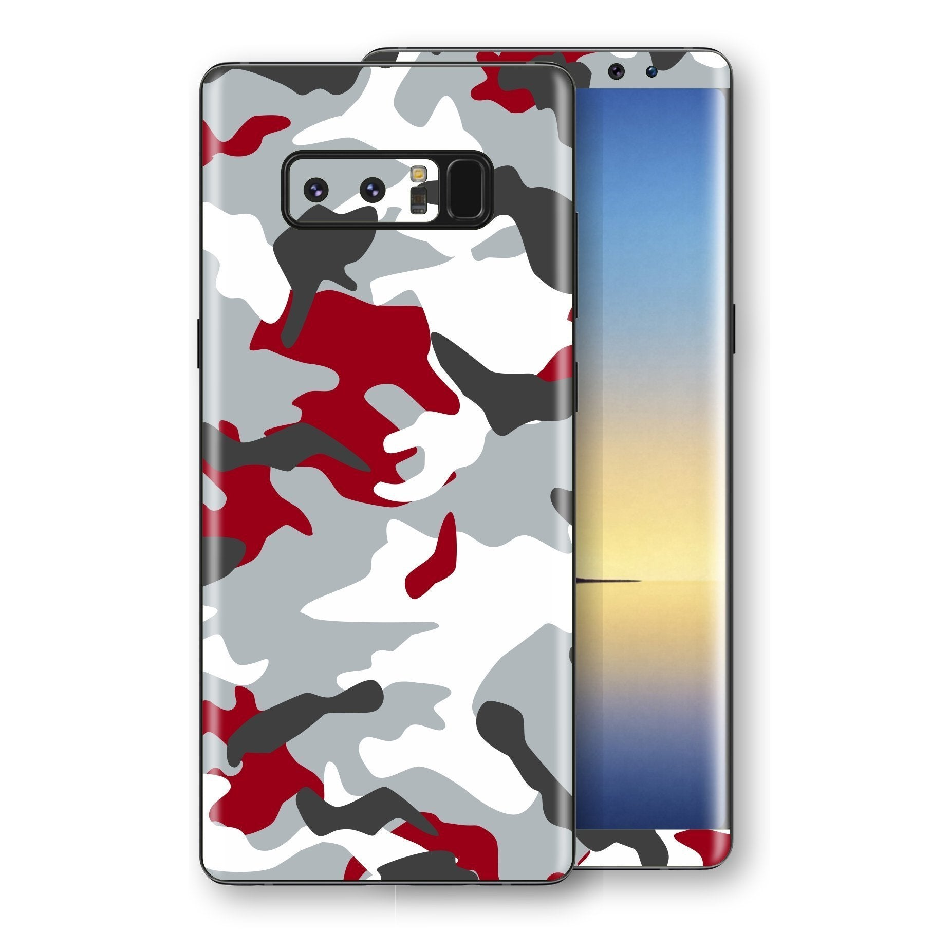 Huawei P10  Print Custom Signature Camouflage Red Skin Wrap Decal by EasySkinz