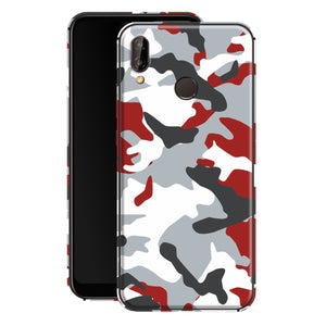 Huawei P20 LITE Print Custom Signature Camouflage Red Skin Wrap Decal by EasySkinz