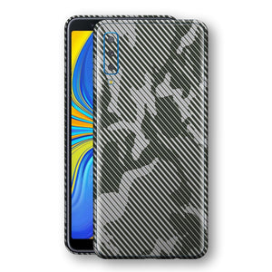 Samsung Galaxy A7 (2018) Print Custom Signature CAMO STRIPES Abstract Skin Wrap Decal by EasySkinz