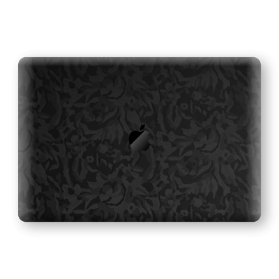 "MacBook Pro 13"" (2020) Black Camo Camouflage 3D Textured Skin Wrap Decal Protector 