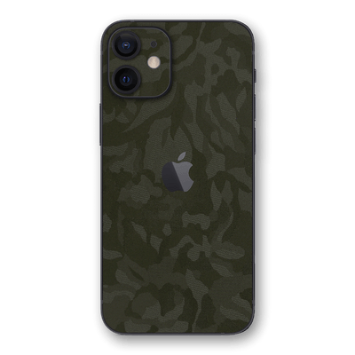 iPhone 12 Luxuria Green 3D Textured Camo Camouflage Skin Wrap Decal Protector | EasySkinz