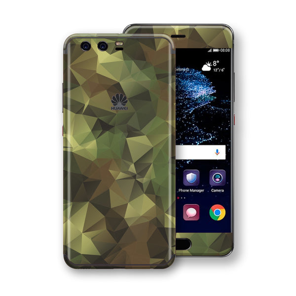 Huawei P10+ PLUS  Print Custom Signature Camouflage Abstract Skin Wrap Decal by EasySkinz