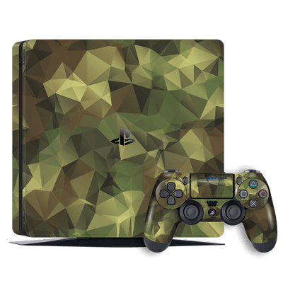 Playstation 4 SLIM PS4 Signature Camouflage Skin Wrap Decal by EasySkinz