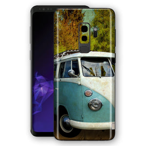 Samsung Galaxy S9+ PLUS Signature Vintage Van Skin, Decal, Wrap, Protector, Cover by EasySkinz | EasySkinz.com