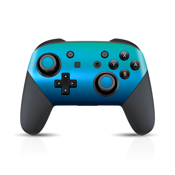 Nintendo Switch Pro Controller Chameleon Caribbean Colour-changing Skin Wrap Sticker Decal Cover Protector by EasySkinz