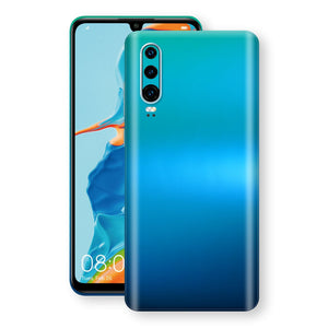 Huawei P30 Chameleon Caribbean Skin Wrap Decal Cover by EasySkinz