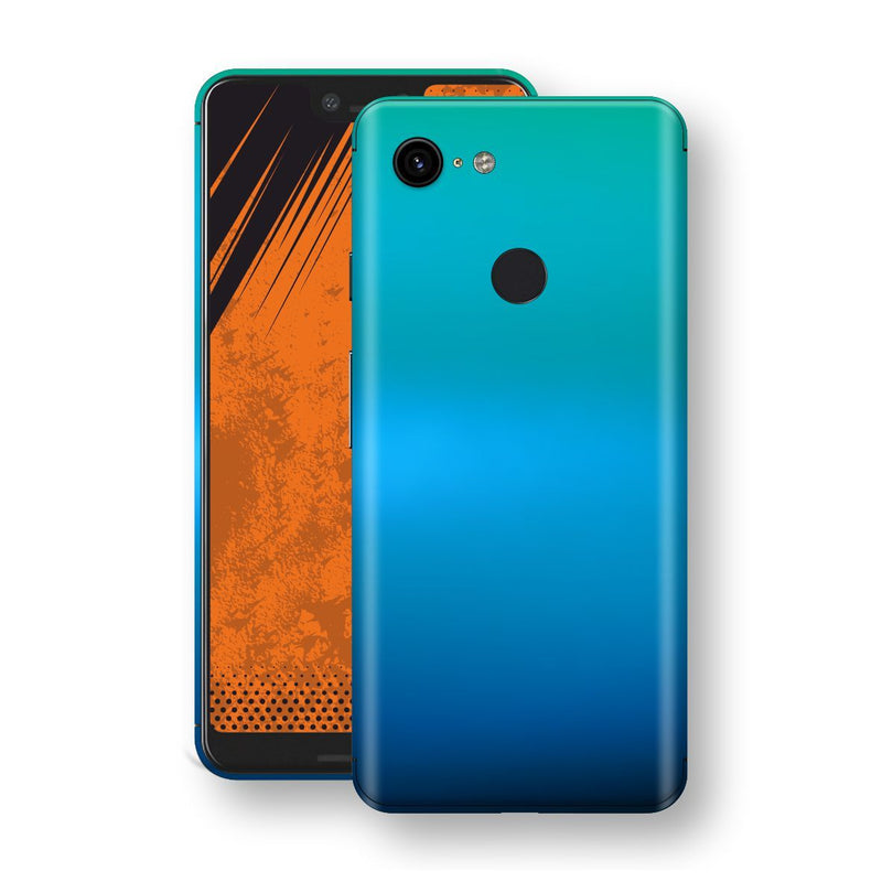 Google Pixel 3 XL Chameleon Caribbean Skin Wrap Decal Cover by EasySkinz