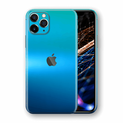 iPhone 11 PRO Chameleon Caribbean Colour-changing Skin, Wrap, Decal, Protector, Cover by EasySkinz | EasySkinz.com  Edit alt text